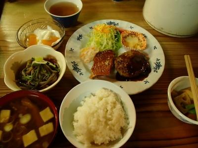 燕山荘 夕食