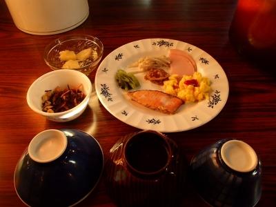 燕山荘 朝食