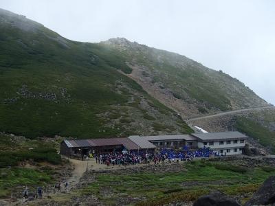 学校登山でした