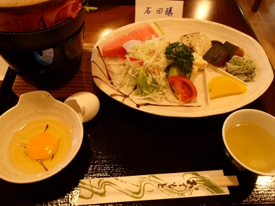 白雲荘 夕食