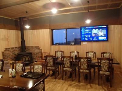 白雲荘 食堂