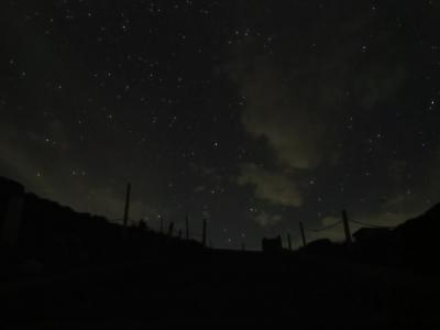 Canon G16 乗鞍岳夜空2