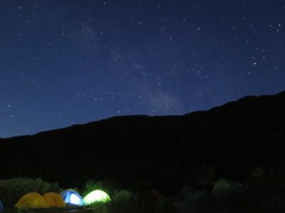 Canon G16 白根御池小屋夜空1