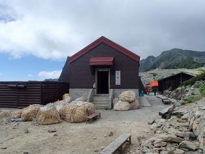 北岳山荘 バイトトイレ建物