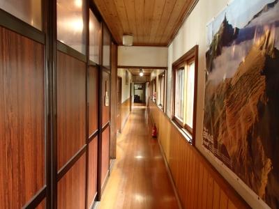 五竜山荘 廊下