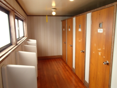 五竜山荘 トイレ