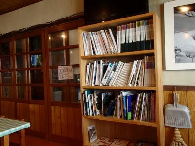 五竜山荘 本棚