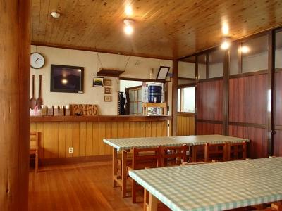 五竜山荘 食堂