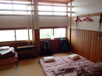 八方池山荘 和室部屋