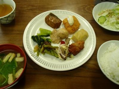 八方池山荘 夕食
