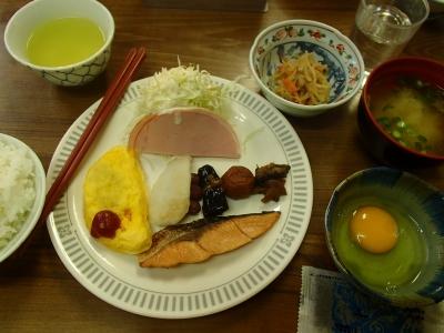 八方池山荘 朝食
