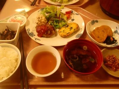 横尾山荘_夕食