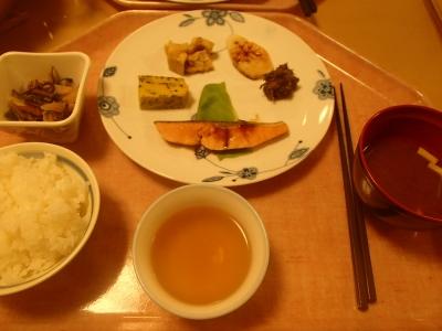 横尾山荘_朝食
