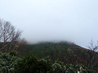 下山時は曇り