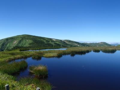 平ヶ岳 地塘が綺麗すぎる