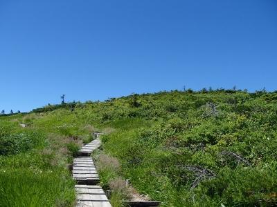 平ヶ岳最後の登り