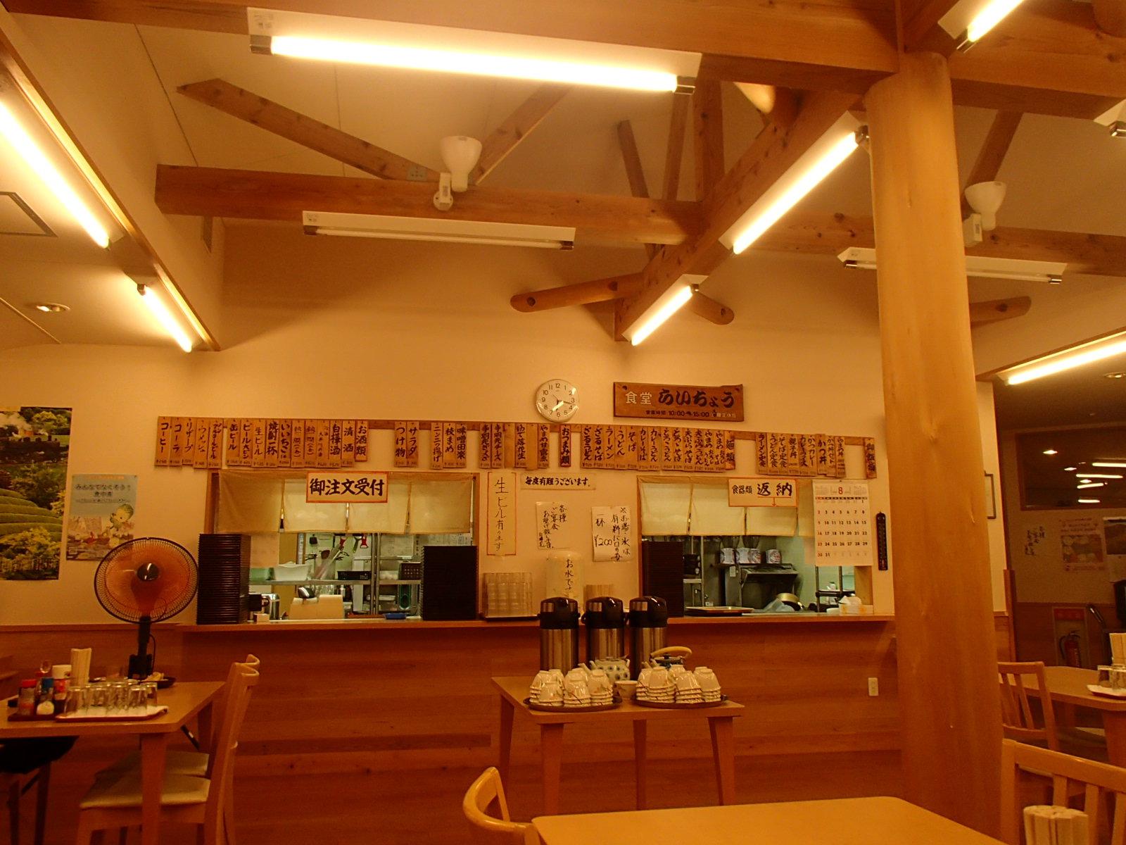 白樺荘 食堂.JPG