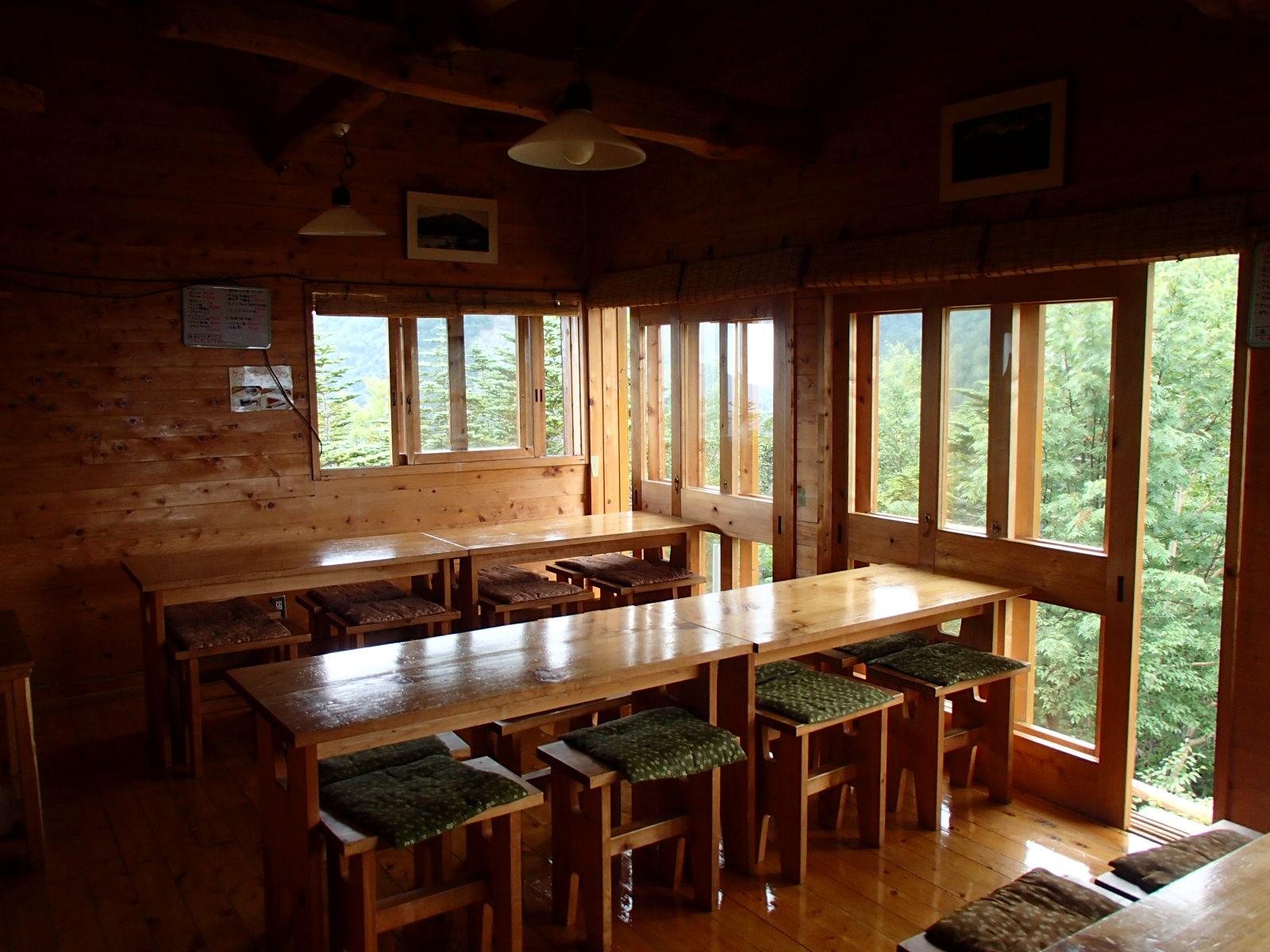 赤石小屋 食堂.JPG