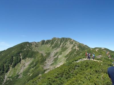 仙丈ケ岳のカール