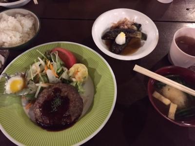 北沢峠こもれび荘 夕食