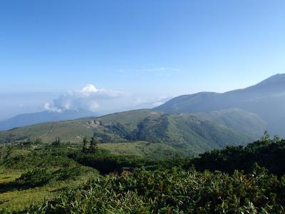 太郎山−北ノ俣岳 稜線1