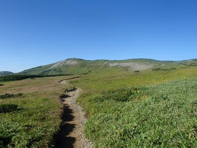 太郎山−北ノ俣岳 稜線2