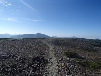 北ノ俣岳−黒部五郎岳 稜線1