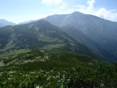 北ノ俣岳−黒部五郎岳 稜線3