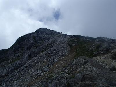 黒部五郎岳山頂まで