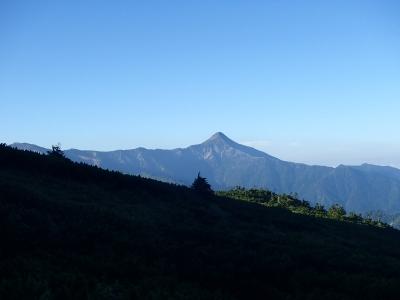 笠ヶ岳が見えてきた