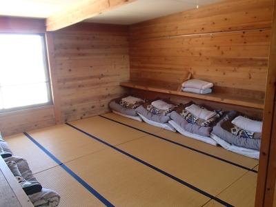 双六小屋2F寝室
