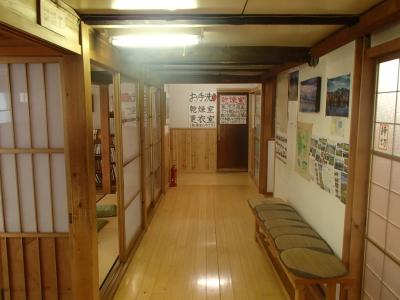 双六小屋1F廊下