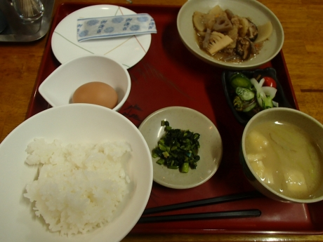 法華院温泉山荘_朝食.JPG