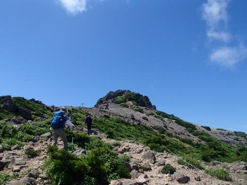 安達太良山山頂前.JPG