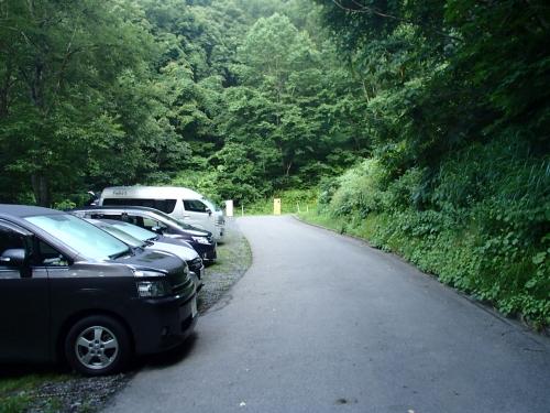 林道終点(駐車場).JPG