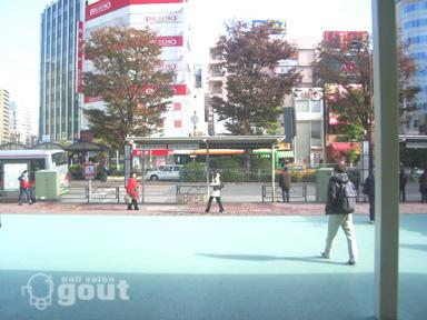 五反田 ネイル nail salon gout 地図