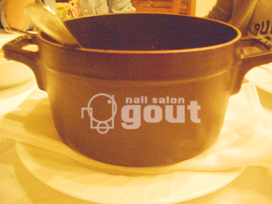 五反田 ネイル nail salo gout  ネイルサロン 小林食堂