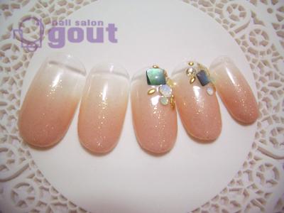 五反田 ジェル nail salon gout ネイル ジェル キャンペーン