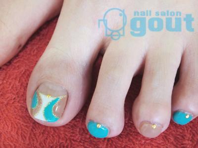 五反田 ジェル nail salon gout  ネイルサロン