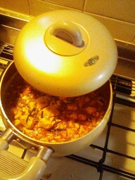 マーボー豆腐夕食