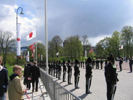 天皇皇后両陛下 ノルウェー訪問