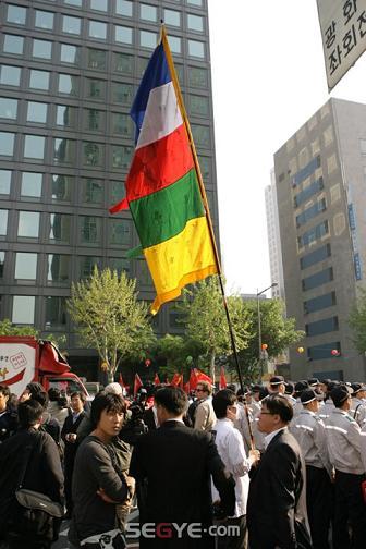 韓国 Free Tibet