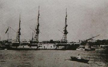 トルコ軍艦 エルトゥールル号