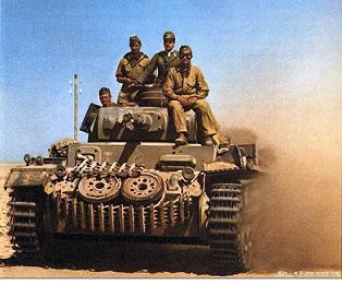 DAKの三号戦車