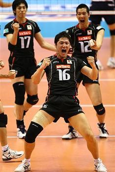 男子バレーボール 日本代表 石島雄介