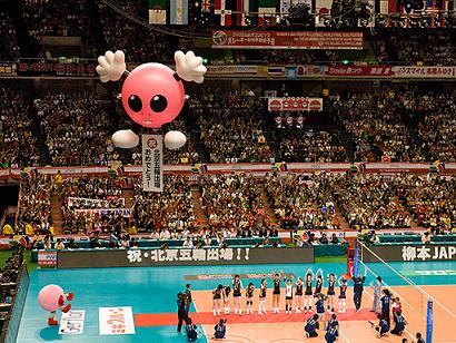 バレーボール 日本代表女子