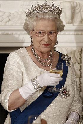 イギリス 英国 エリザベス女王