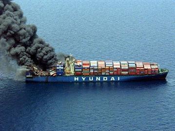 韓国 貨物船 ヒュンダイ