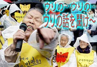 韓国 従軍慰安婦 売春婦 ウリの話を聞け