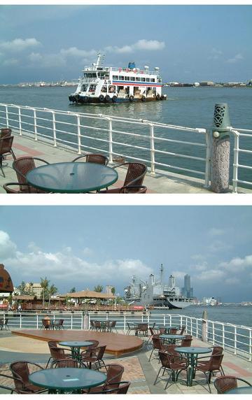台湾 高雄港 哨船頭公園